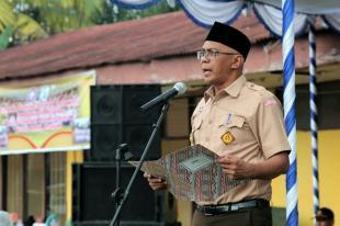 Pj Bupati Inhil Rudiyanto Membuka Secara Resmi Perkemahan Kwartir Ranting Kecamatan Kemuning
