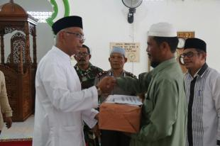 Safari Ramadhan, Pjs Bupati Inhil Kunjungi Kecamatan Sungai Batang dan Reteh