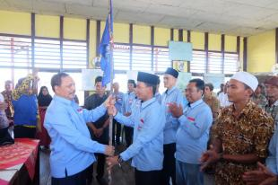 Sekda Inhil Said Syarifuddin Hadiri dan Kukuhkan Ranting HSNI Kecamatan Mandah