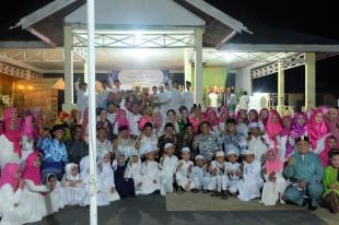 Sekdakab Inhil Hadiri Halal Bi Halal Dan Deklarasi Milad Kecamatan GAS