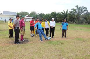 Sekda Inhil Buka Pertandingan dan Turnamen Olahraga di Tiga Desa, di Kemuning