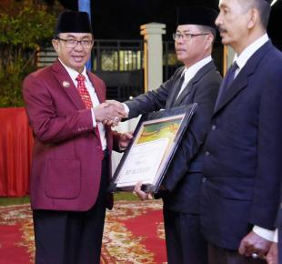 Malam Resepsi HUT RI, Kemerdekaan Sebuah Anugerah Bagi Bangsa Indonesia