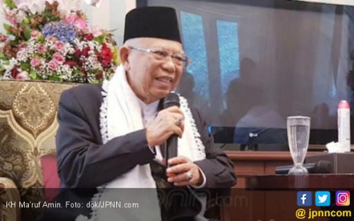 Cawapres No 01 KH Ma'ruf Amin: Jangan Pilih Pemimpin yang Bodoh