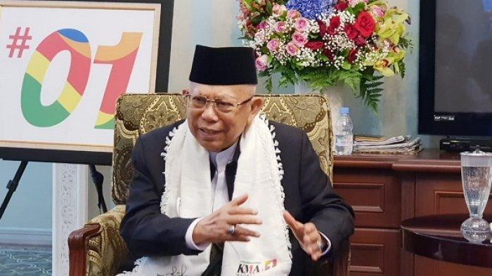 KH Ma'ruf Amin: Ente Sudah Berbuat Apa untuk Islam? Pak Jokowi Sudah Banyak