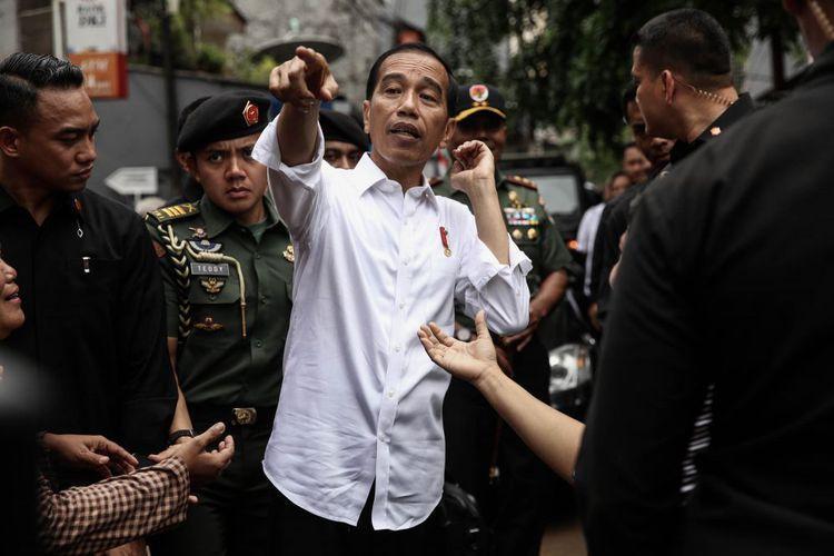 Jokowi:Tidak Semudah Itu Menggerus Elektabilitas Saya di Kandang Banteng.