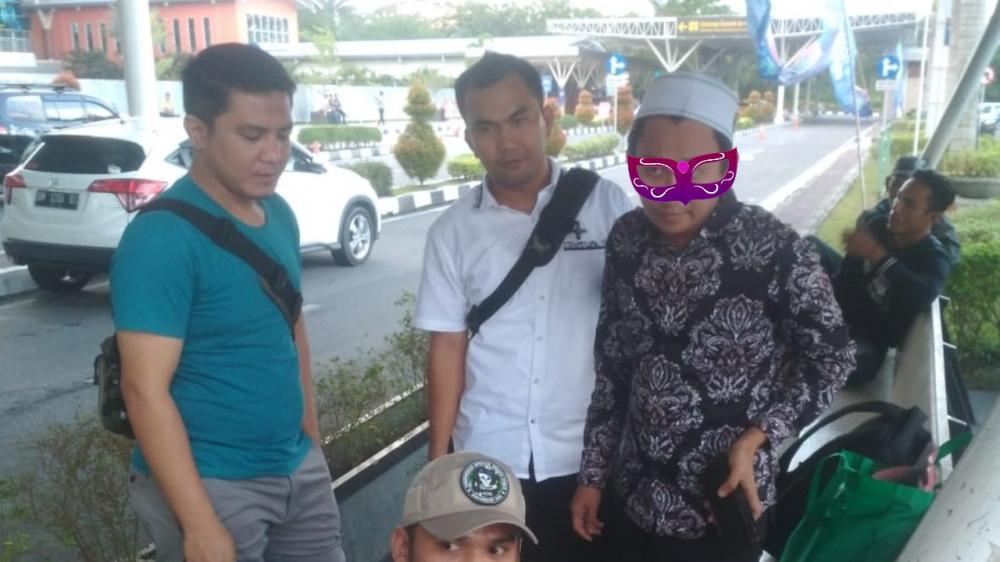 Sodomi Muridnya, Pria ini Ditangkap di Bandara SSQ II Saat Akan Kabur ke Malaysia
