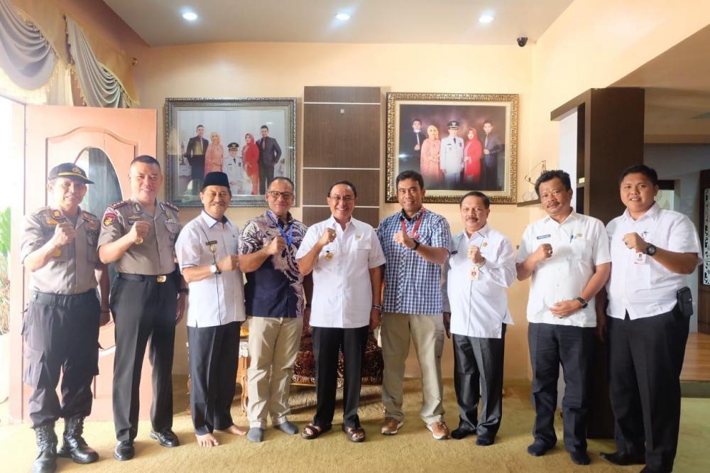 Jamuan Kedatangan Dir Reskrimsus Polda Riau, Bupati: Ini Ajang Silahturrahmi Dalam Bingkai Ukhuwah Islamiyah