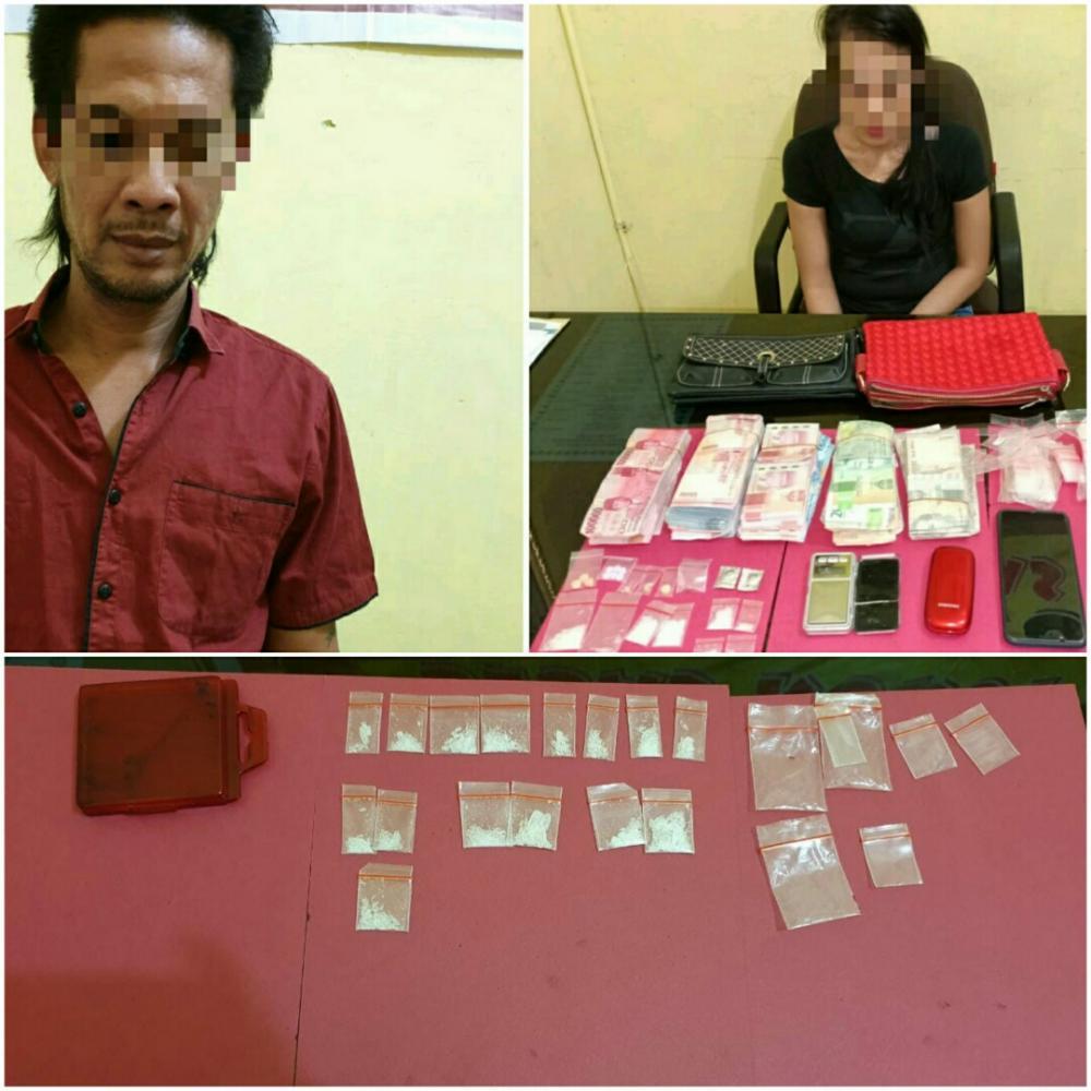 Sat Narkoba Polres Rohil Berhasil Ungkap Pemilik Narkotika yang Merupakan Pasutri di Bagan Siapiapi