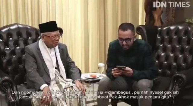 KH Ma'ruf Amin Menyesal Jadi Saksi Kasus Ahok Karena Terpaksa & Sampaikan Minta Maaf