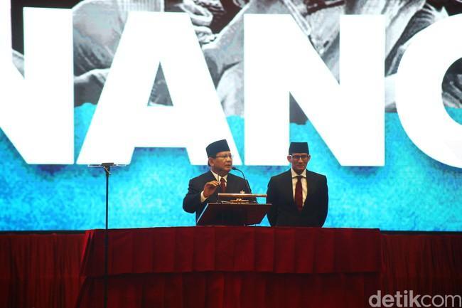 Simak Video Pidato Kebangsaan Capres No Urut 02 Prabowo- Sandi