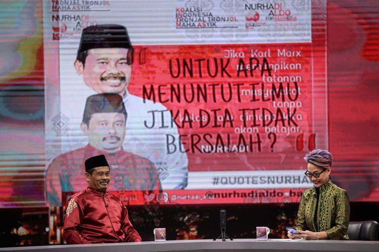 Ketua TKN Jokowi-Ma'ruf Erick Thohir Anggap Nurhadi-Aldo Hiburan di Tengah Hiruk Pikuk Pilpres