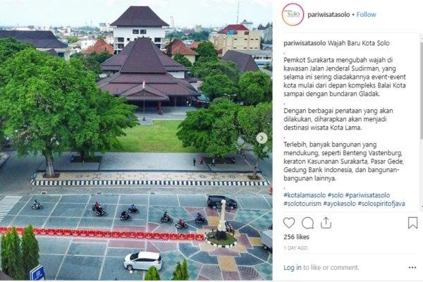 Paving Koridor Jensud Dianggap Mirip Gambar Salib, Wali Kota Solo: Itu Tidak Benar!