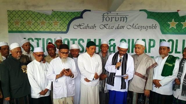 Habaib-Kiai, Merujuk Hadits Nabi, Rapatkan Barisan untuk 02 Prabowo-Sandi