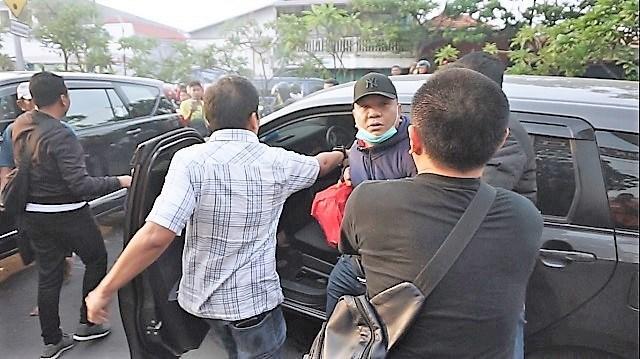 Mantan Ketua DPRD Surabaya Periode 2009-2014 Gilas Motor Jaksa,Akhirnya Wisnu Wardhana Ditangkap