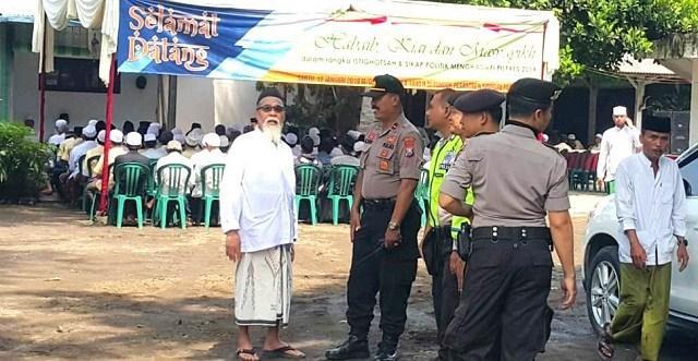 Dukungan Habaib dan Kiai di Sidogiri untuk 02 Berjalan Lancar,,Polisi Minta Tak Ada Panggung