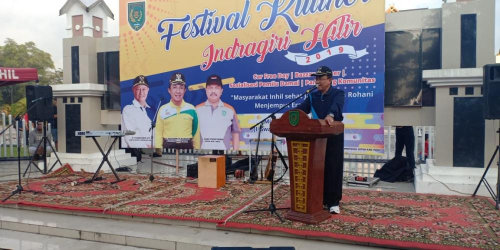 Bupati Inhil Sambut Baik Gelaran Festival Kuliner 2019