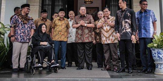 SBY Beri Tips Khusus ke Prabowo Agar Debat Meraih Simpati Publik