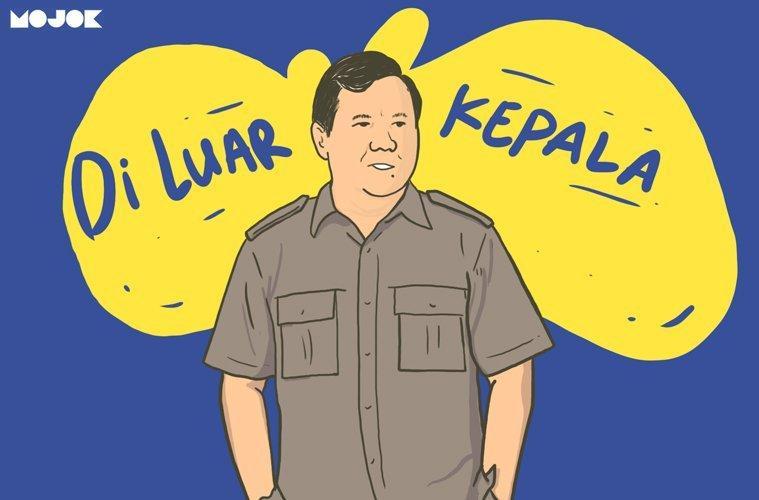 Pidato Prabowo Miskin Gagasan Itu Cuma Tuduhan ala Cebong Saja