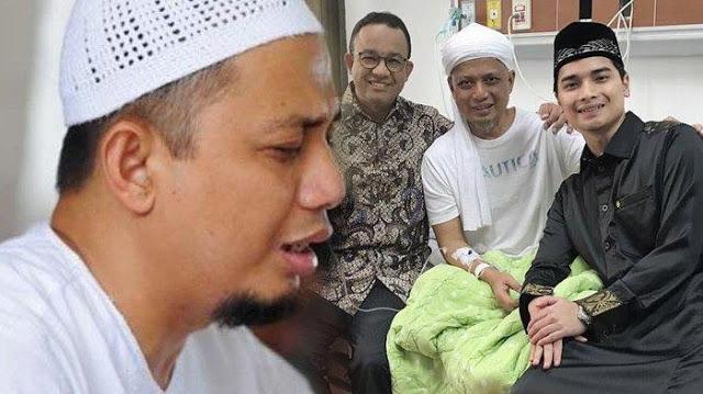 Dirawat di RS, Ustaz Arifin Ilham Titip Salam untuk Prabowo