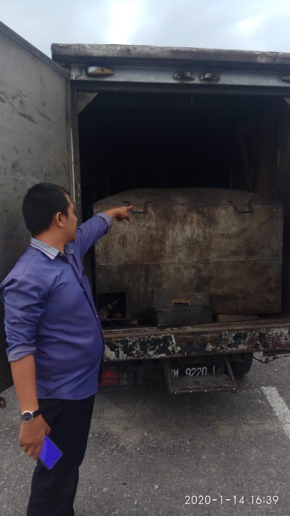 Tim Opsnal Polres Kampar Tangkap 2 Pelaku Penyelewengan BBM Bersubsidi