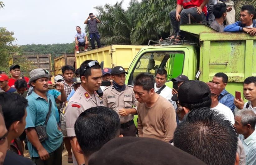 Kuasa hukum PT PSJ lakukan press release terkait eksekusi lahan yang 3.323 Ha yang tertunda