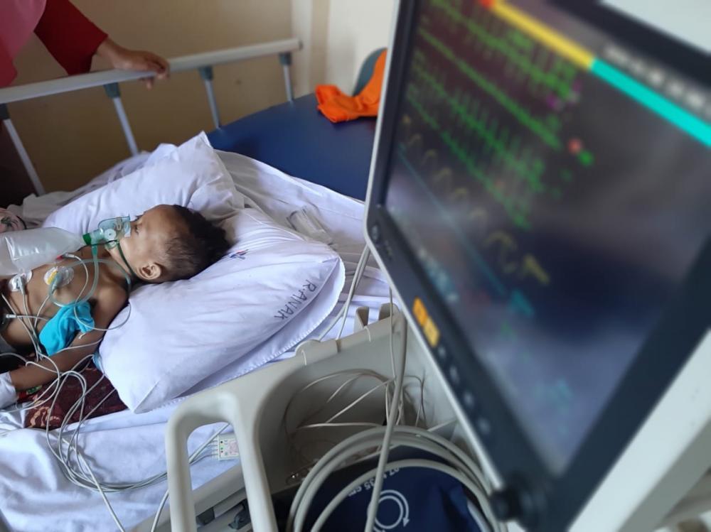 Bayi Yatim 2 Tahun Penderita Leukemia Di Tembilahan Butuh Uluran Tangan