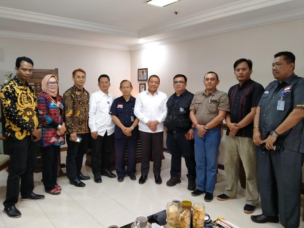 Menteri Sosial RI Terima Audiensi DPP AWPI, Sinergi dan Pengawasan Realisasi Program Pemerintah