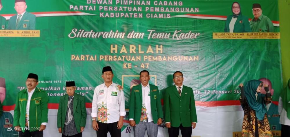 """DPC PPP Ciamis Memperingati Harla Ke 47 """"Mengamalkan Keislaman, Untuk Indonesia Maju"""""""