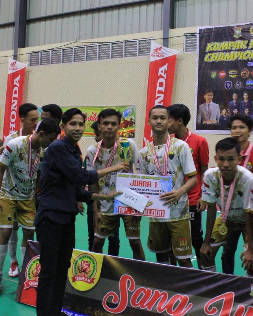 18 Tim se-provinsi Riau ikut dalam kampar
