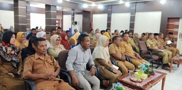 Pemko Langsa ,penandatanganan kontrak kinerja dengan Sekolah tingkat SMA dan pengawas sekolah.