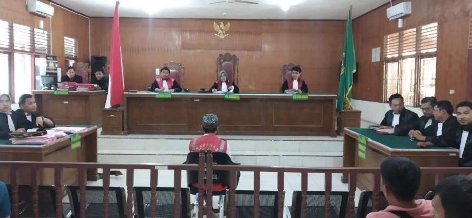 Sidang Tindak Pidana UU ITE,JPU Menolak Semua Eksepsi Dari Penasehat Hukum