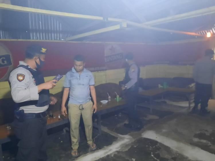 Mantapkan Harkamtibmas, Polres Rohil Patroli di Sejumlah Wilayah