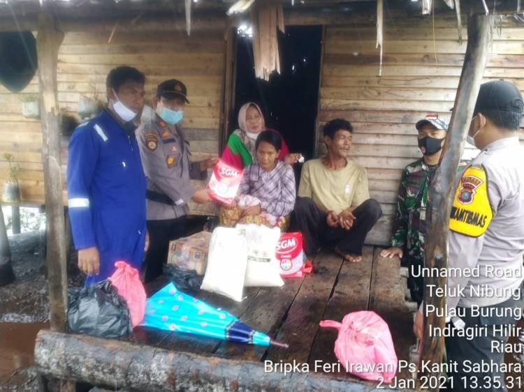 Kapolres Inhil Respon Cepat Kabar Mengenai Warga dari Kecamatan Terjauh yang Alami Kesulitan