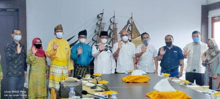 Pengurus APSAI Silaturahim dengan Bupati Inhil HM. Wardan, Siap Jadikan Inhil Kabupaten Layak Anak