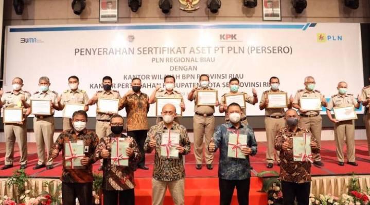 100 Miliar Lebih Aset Negara Hasil Kalaborasi Diselamatkan Di Riau