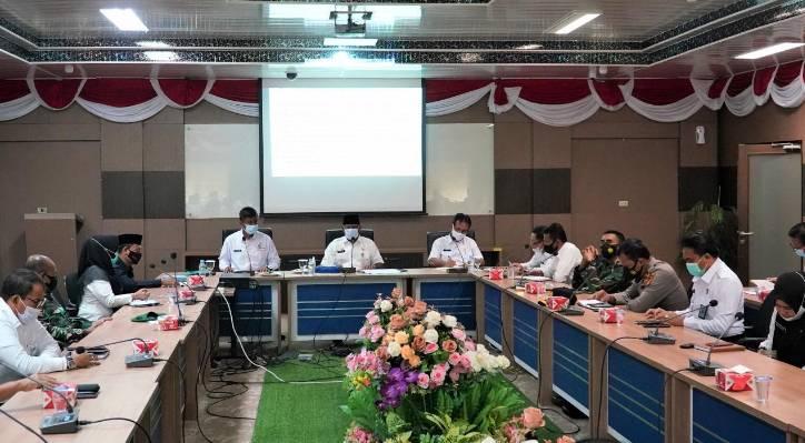 Pemda Kampar Gelar Rapat untuk Menyambut HUT Kabupaten Kampar Ke-71 Tahun 2021