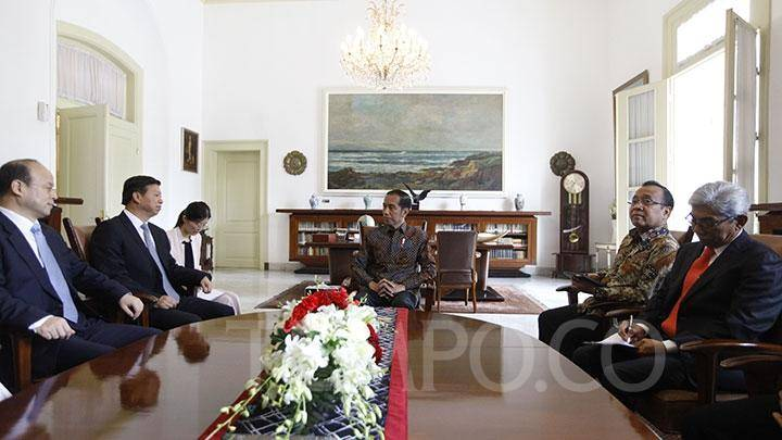 Selain Vaksinasi, Hari ini Presiden Jokowi Bertemu Menlu Cina Bahas Peningkatan Kerja Sama Ekonomi