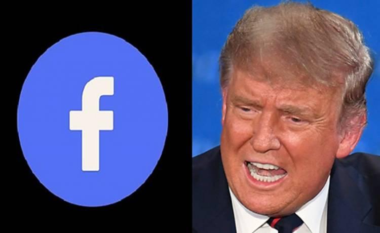Facebook Bekukan Akun Presiden Trump Hingga Masa Jabatannya Berakhir