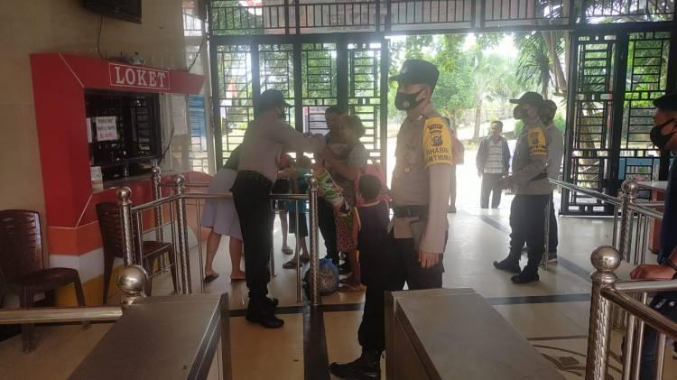 Polsek Bagan Sinembah Gencar Tindak Lanjuti Inpres No 6 Thn 2020 Tentang PDPH Prokes