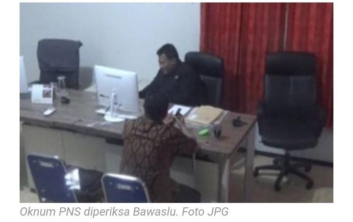 Diduga Kampayekan Prabowo-Sandi di Grup WA, ASN di Periksa Bawaslu