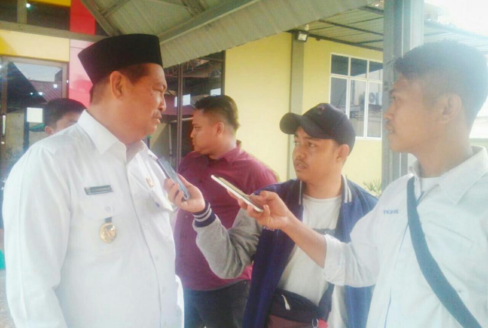 Soal Fenomena Air Pasang Dalam di Inhil, Ini Kata Wakil Bupati