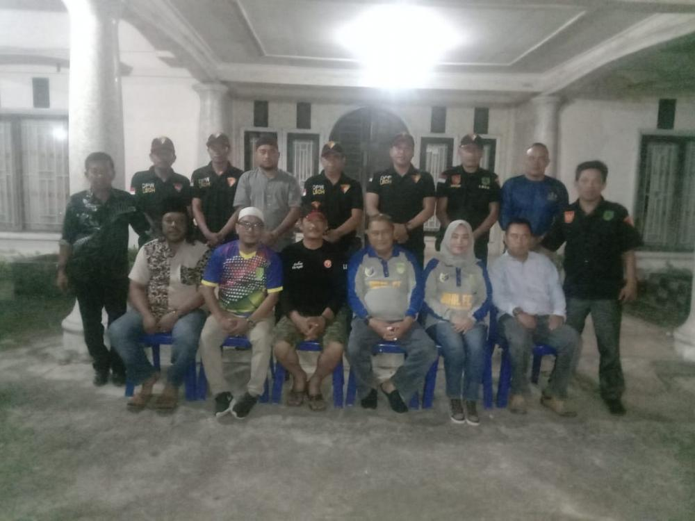 Jalin Silaturahmi Habib Rizal Ngopi Bersama Keluarga LBDH