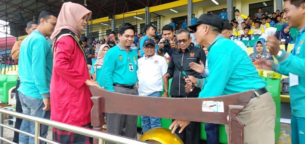 Universitas Pahlawan Open Turnamen Cup II 2020, Bupati Kampar di Wakili Kadisdik Sukses Membuka Secara Resmi