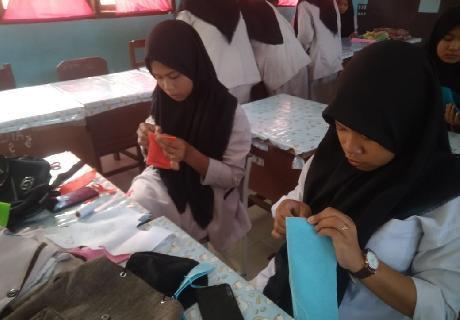 Siswa SMKN Taman Fajar Aceh Hasil kan Ini