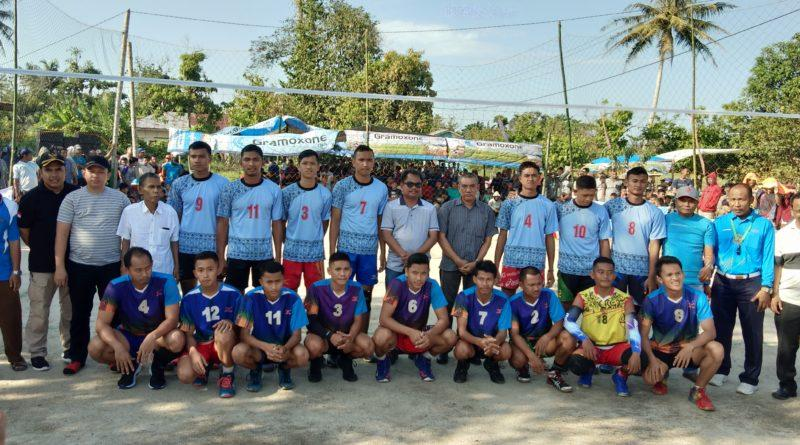 22 Club Ikuti Tournamen Bola Volly Simpati Cup VI Berjaya