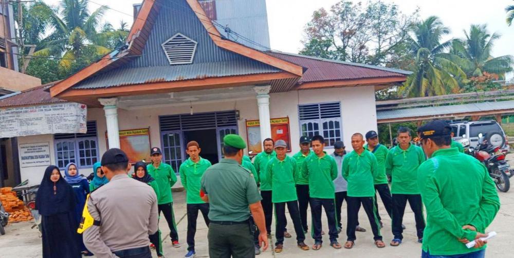 Sinergitas TNI-POLRI Sosialisasikan pencegahan dan penanggulangan Karhutla
