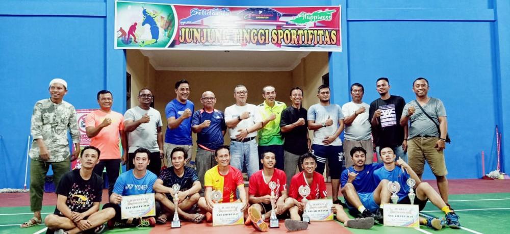 Badminton Open Turnamen Bupati Cup l 2020, Bagan Sinembah Borong Partai Final