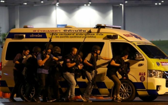 Aksi Brutal Penembakan Di Pusat Perbelanjaan Di Thailand Menewaskan 29 Orang