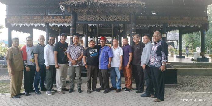 Wali kota Langsa Dampingi Bupati Pidie ke Hutan Kota