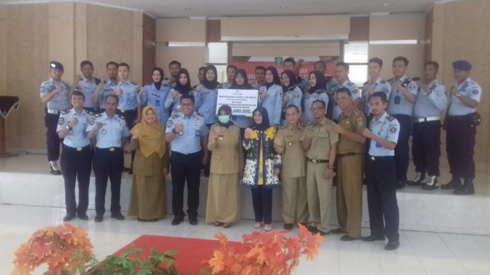 Lapas Banjar Terima program CSR